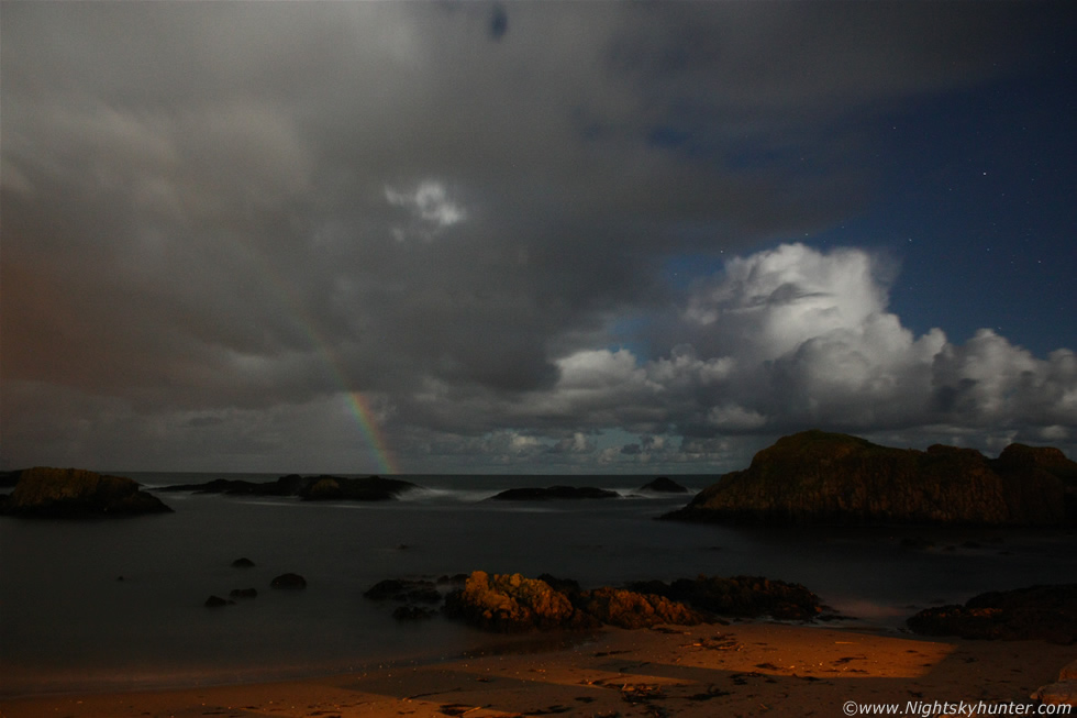 Ballintoy Harbour Moonbow
