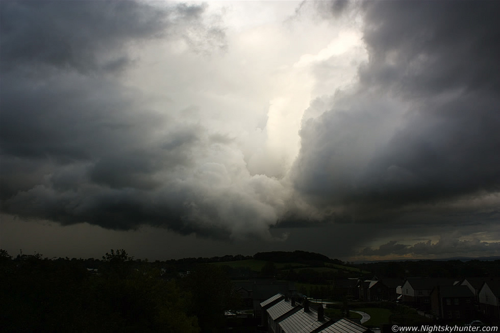 Wall Cloud & Funnel Cloud, Maghera, N. Ireland