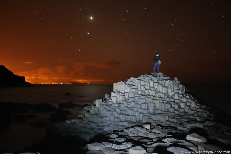 Giant's Causeway Planets, Zodiacal Light & Aurora