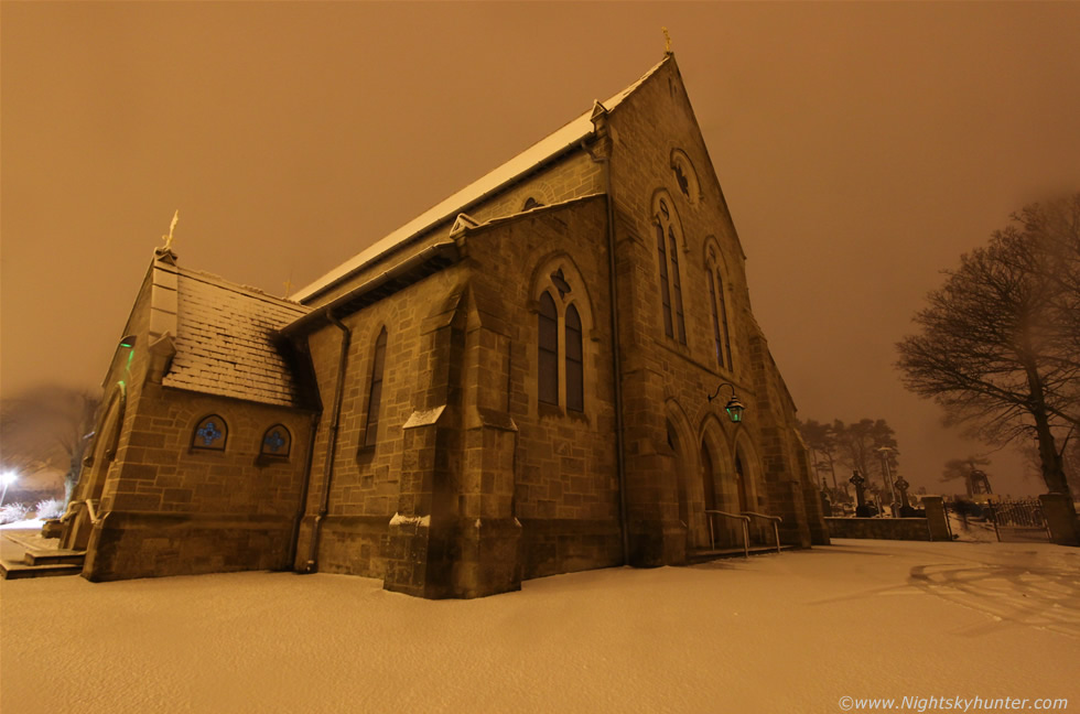 Dungiven Chapel In Snow