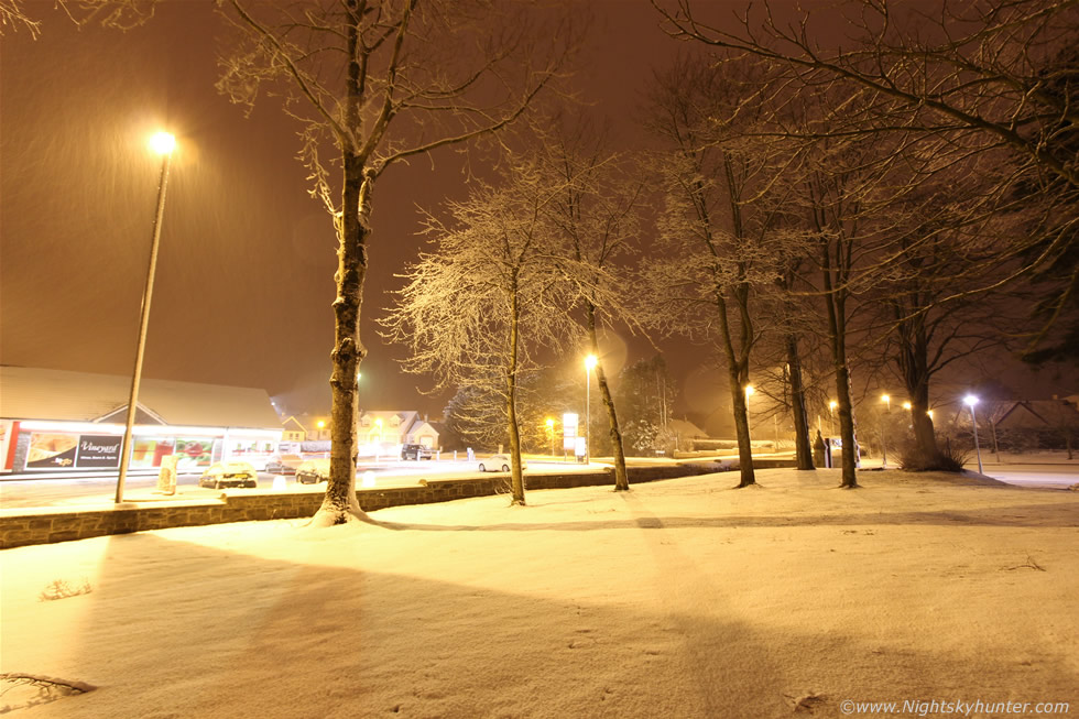 Dungiven Night Snow