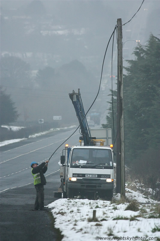 Insane Icicles On Glenshane Pass