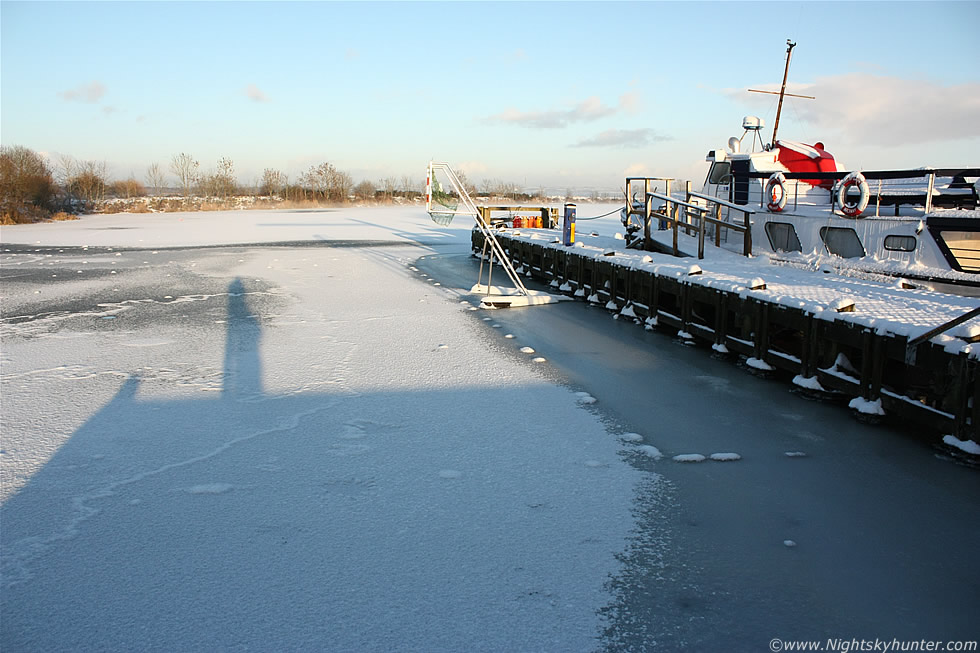 Lough Neagh Freeze, Ballyronan Marina, N. Ireland