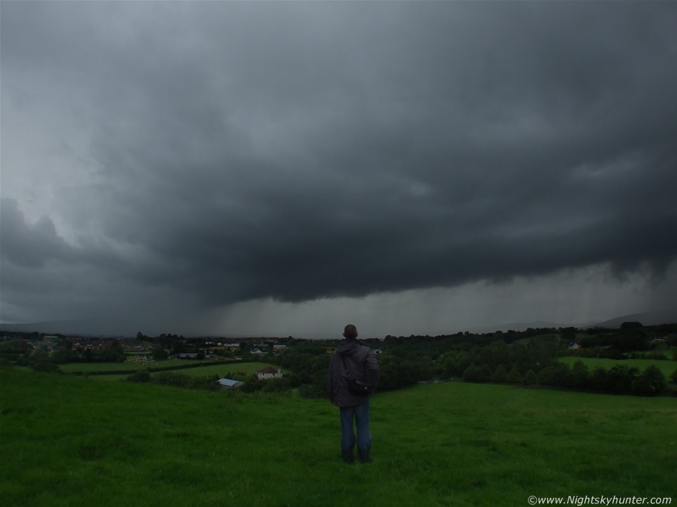 Sperrin Mountain Shelf Cloud