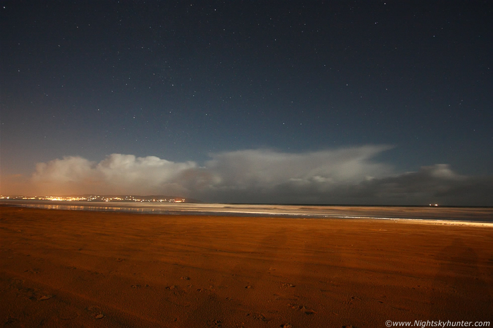 Moonlit Ocean Storms - North Coast