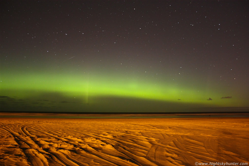 Downhill Beach Aurora