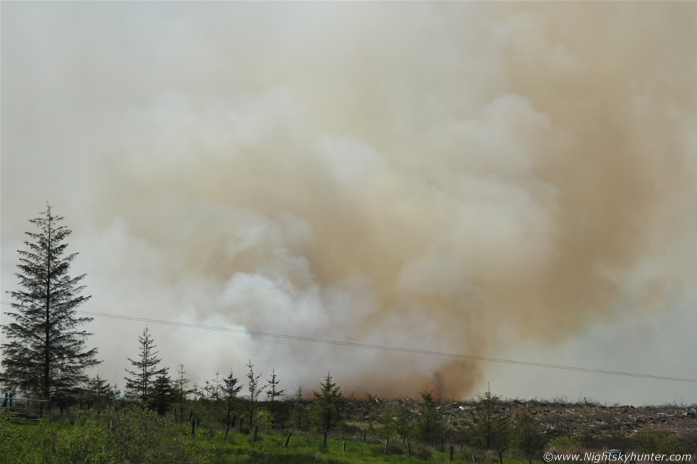 Omagh Gorse Fire