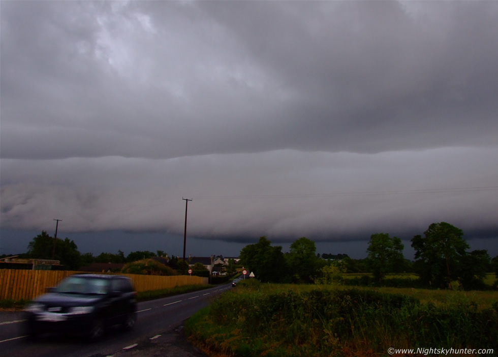 Monster Ballyronan Shelf Cloud