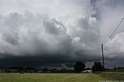 Co. Antrim Thunderstorms - July 21st 2010