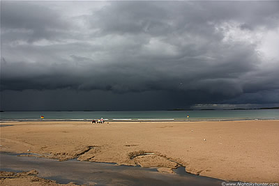 Portrush Multicell Thunderstorm - August 9th 2010