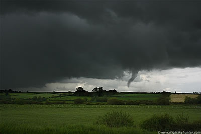 Funnel Cloud, Maghera-Knockloughrim, June 7th 2011