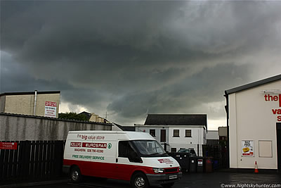 Maghera Funnel Cloud Outbreak - July 6th 2011