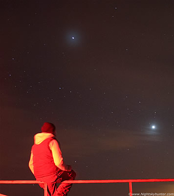 Birthday, Snow Storms, Planet Conjunction & Aurora - Feb 18th 2012