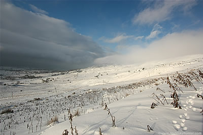 Beautiful Snowfall On The Sperrin Mountains - Jan 22nd 2013