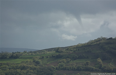 Co. Fermanagh & Omagh Funnel Cloud Outbreak - May 28th 2013