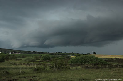 Cookstown & Omagh Road Thunderstorms & Hail Storms - June 9th 2014