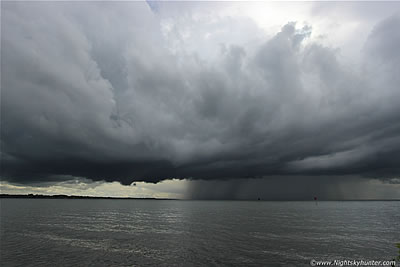 Lough Neagh Thunderstorm - June 10th 2014