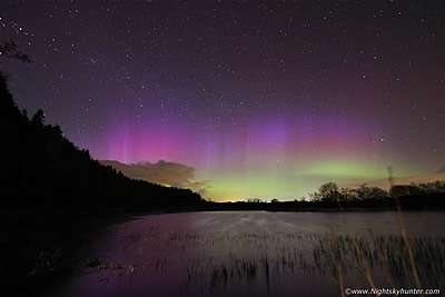 Killyleagh Lough, Maghera Aurora - April 7th 2016