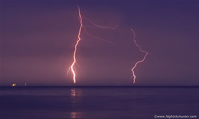 Balllintra Thunderstorms & Lough Neagh Lightning Event - June 6th 2016