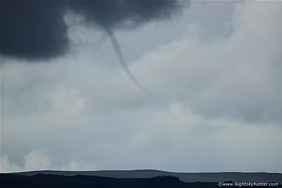 Beautiful Rope Funnel Cloud - Maghera - June 24th 2016