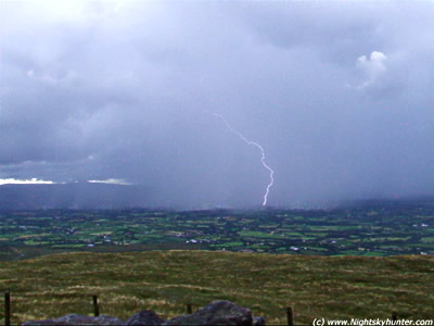 July 16th Slieve Gallion Storm Chase