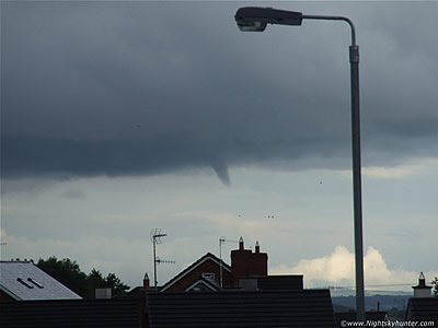 Surprise Funnel Cloud Over Maghera - August 2nd 08