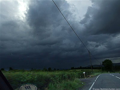 Storms & Funnel Cloud - June 13th 09