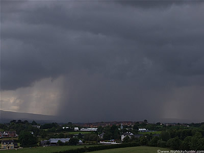 Multicell Thunderstorms - July 21st 09
