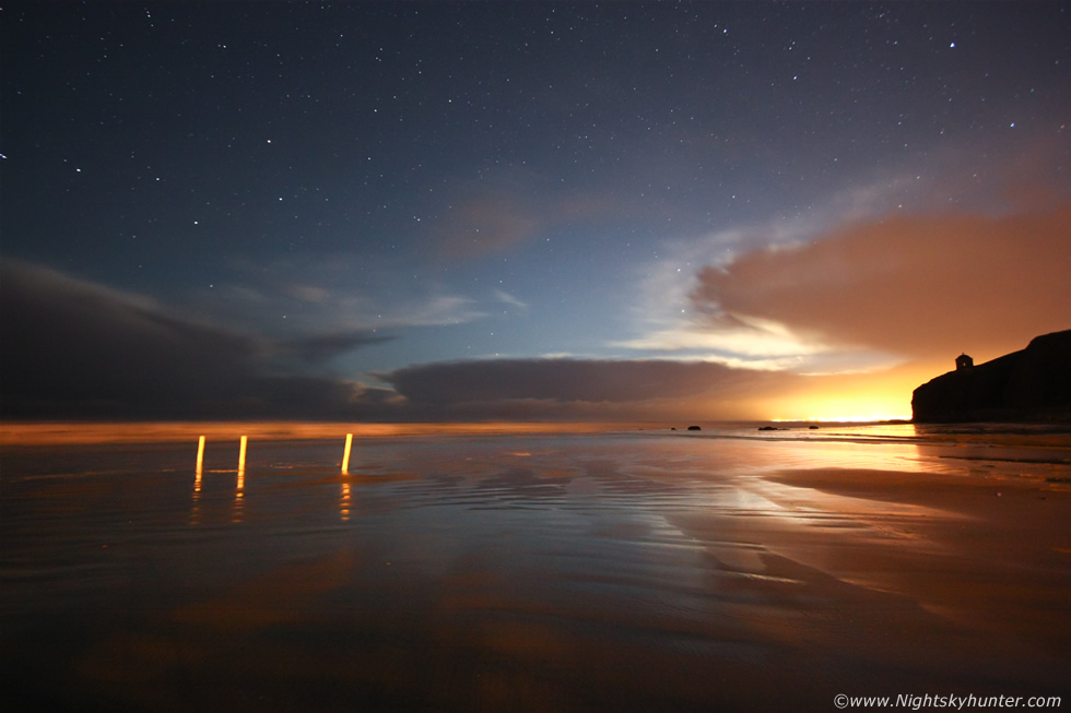 Downhill Beach Night Convection