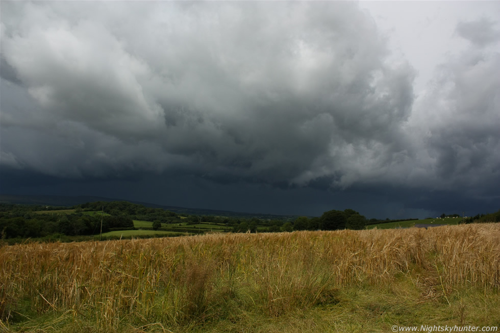 Thunderstorm & Wheat Fields - Maghera