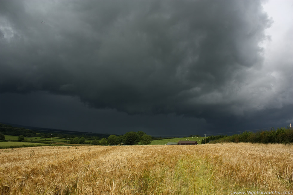Thunderstorm & Wheat Field - Maghera