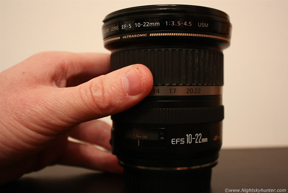 Canon 10-22mm Ultra Wide Angle Lens