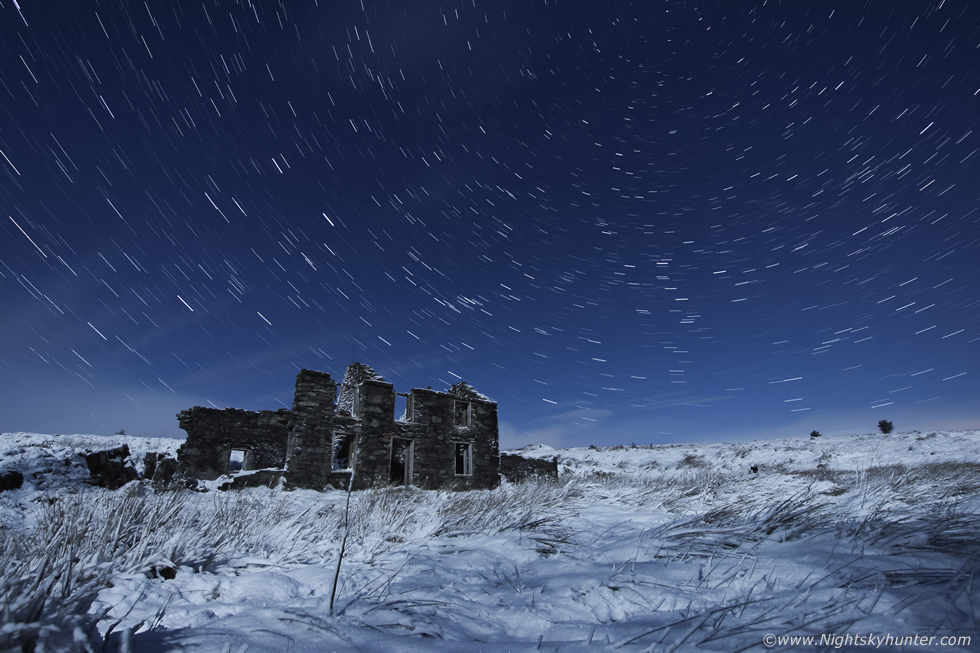 Glenshane Pass Moonlit Snow Report
