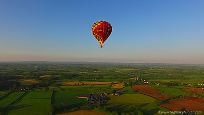 Maghera Hot Air Balloons - Drone View