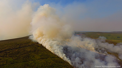 Historic Glenshane Three Day Gorse Fire - June 27th 2018